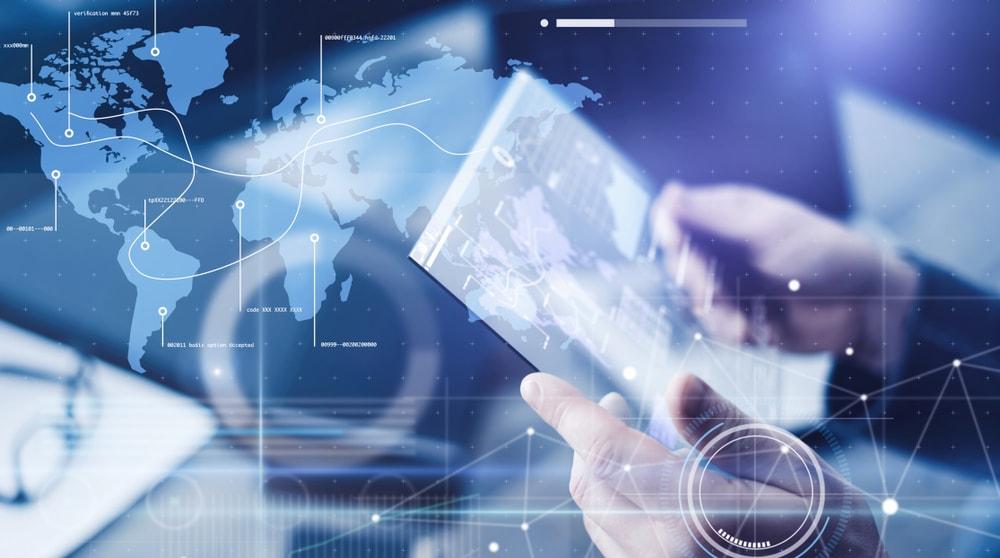 logistics-global-map-connection-transport-technology